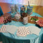 Snack Table, Edible Arrangements